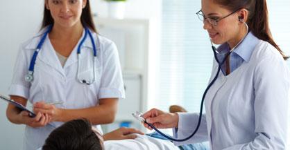 Check-Up / Gesundheitsuntersuchung